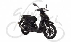 Skuter Romet Black City 125ccm