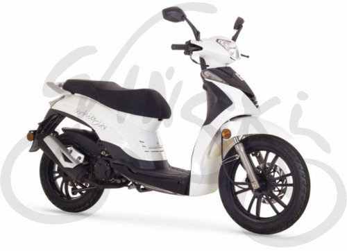 skuter White City 125