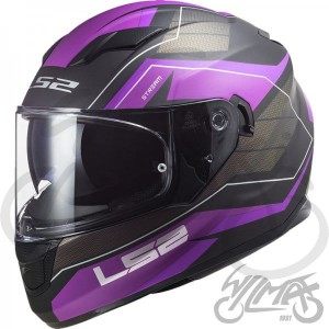 Kask LS2 FF320 Stream Evo Mercury Titan Purple